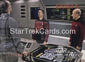 Star Trek The Next Generation Season Four Trading Card 336