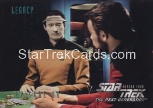 Star Trek The Next Generation Season Four Trading Card 337
