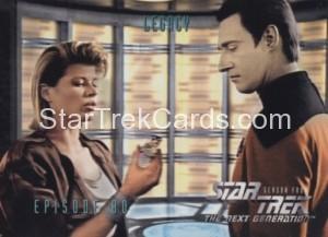 Star Trek The Next Generation Season Four Trading Card 338