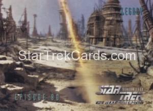 Star Trek The Next Generation Season Four Trading Card 339