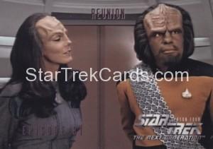 Star Trek The Next Generation Season Four Trading Card 340