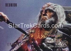 Star Trek The Next Generation Season Four Trading Card 341