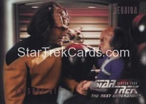 Star Trek The Next Generation Season Four Trading Card 342