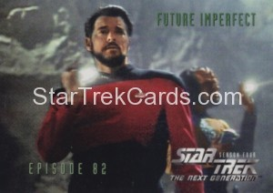 Star Trek The Next Generation Season Four Trading Card 343