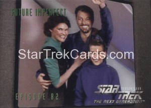 Star Trek The Next Generation Season Four Trading Card 345