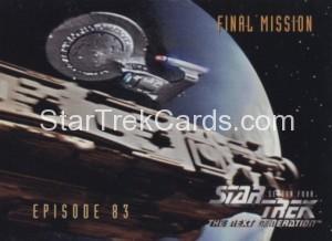 Star Trek The Next Generation Season Four Trading Card 347