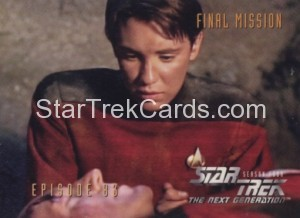 Star Trek The Next Generation Season Four Trading Card 348