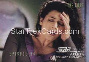 Star Trek The Next Generation Season Four Trading Card 349