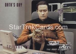 Star Trek The Next Generation Season Four Trading Card 352