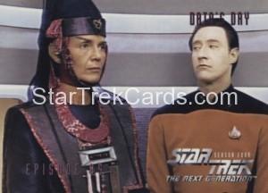 Star Trek The Next Generation Season Four Trading Card 353