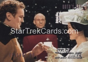 Star Trek The Next Generation Season Four Trading Card 354