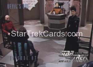 Star Trek The Next Generation Season Four Trading Card 359