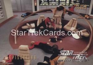 Star Trek The Next Generation Season Four Trading Card 361