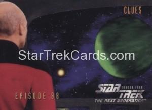 Star Trek The Next Generation Season Four Trading Card 362