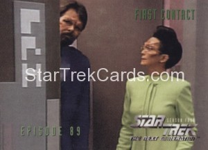Star Trek The Next Generation Season Four Trading Card 365
