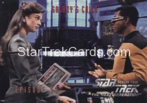 Star Trek The Next Generation Season Four Trading Card 367