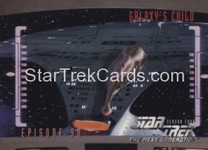 Star Trek The Next Generation Season Four Trading Card 368
