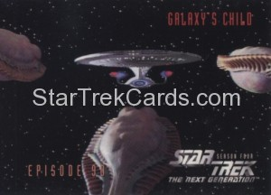 Star Trek The Next Generation Season Four Trading Card 369