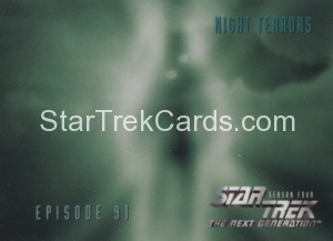 Star Trek The Next Generation Season Four Trading Card 372