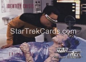 Star Trek The Next Generation Season Four Trading Card 374