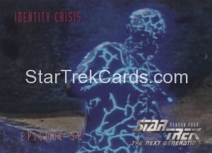 Star Trek The Next Generation Season Four Trading Card 375