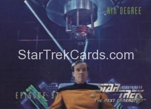Star Trek The Next Generation Season Four Trading Card 377