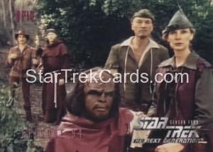 Star Trek The Next Generation Season Four Trading Card 380