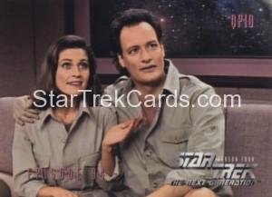 Star Trek The Next Generation Season Four Trading Card 381