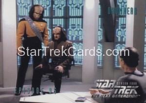 Star Trek The Next Generation Season Four Trading Card 382