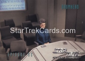 Star Trek The Next Generation Season Four Trading Card 384