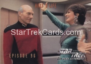 Star Trek The Next Generation Season Four Trading Card 385
