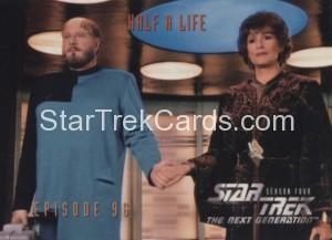 Star Trek The Next Generation Season Four Trading Card 387