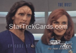 Star Trek The Next Generation Season Four Trading Card 388