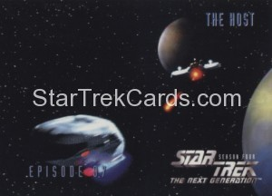 Star Trek The Next Generation Season Four Trading Card 389