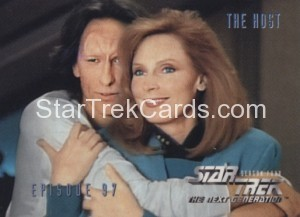 Star Trek The Next Generation Season Four Trading Card 390