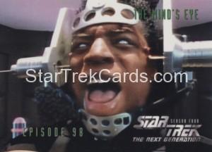 Star Trek The Next Generation Season Four Trading Card 392