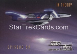 Star Trek The Next Generation Season Four Trading Card 394
