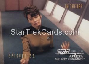 Star Trek The Next Generation Season Four Trading Card 395