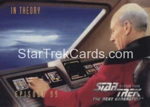 Star Trek The Next Generation Season Four Trading Card 396