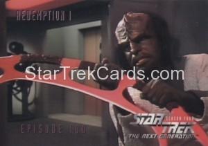 Star Trek The Next Generation Season Four Trading Card 397
