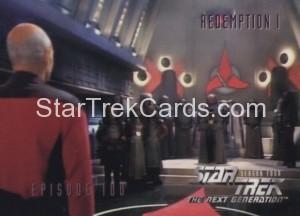 Star Trek The Next Generation Season Four Trading Card 398