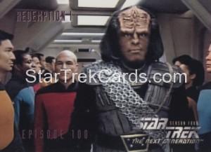 Star Trek The Next Generation Season Four Trading Card 399