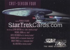 Star Trek The Next Generation Season Four Trading Card 402