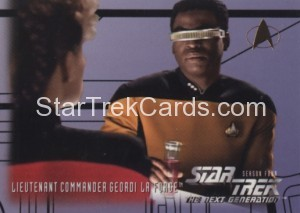 Star Trek The Next Generation Season Four Trading Card 403
