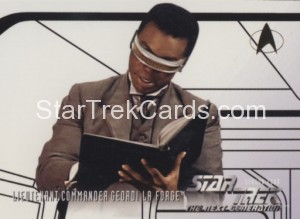 Star Trek The Next Generation Season Four Trading Card 405