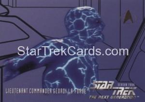 Star Trek The Next Generation Season Four Trading Card 409