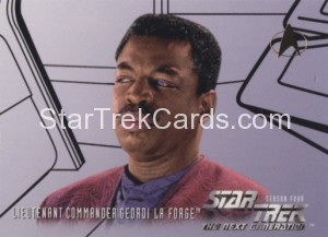 Star Trek The Next Generation Season Four Trading Card 411