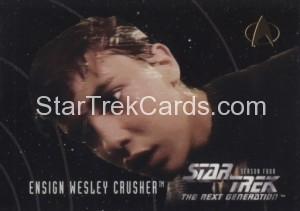 Star Trek The Next Generation Season Four Trading Card 412