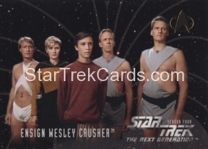 Star Trek The Next Generation Season Four Trading Card 413