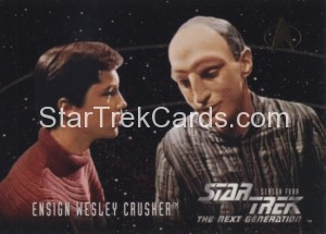 Star Trek The Next Generation Season Four Trading Card 414